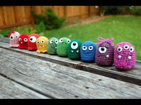 Crochet Amigurumi Baby Monsters With Craftyiscool : How to crochet cute kawaii Sushi - Amigurumi Tutorial Doovi