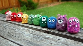 Crochet Amigurumi Baby Monsters With Craftyiscool / Magic Ring Tutorial