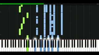 Gloria Estefan - Words get in the way [Piano Tutorial] Synthesia | passkeypiano