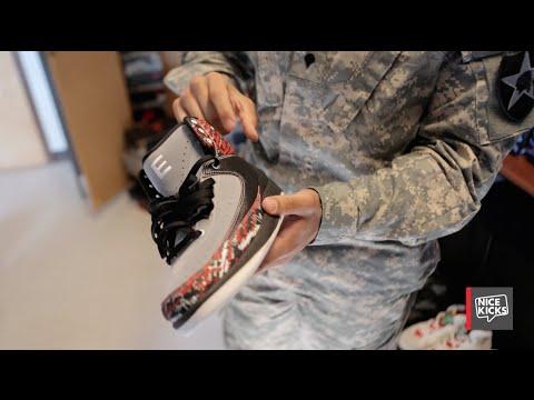 """A """"Sneak Peek"""" Inside US Soldier Jaaziel Ramos' Sneaker Barracks"""