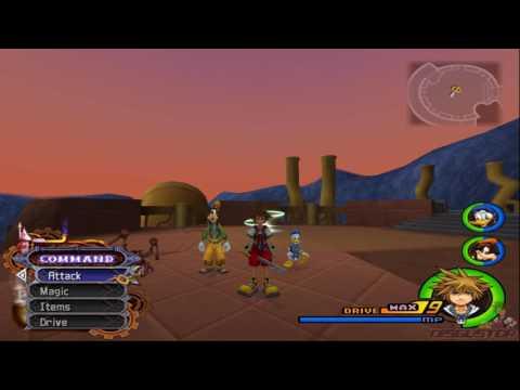 KH2FM - Left over KH1 Sora animations
