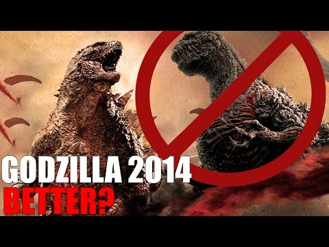 GODZILLA 2014 IS BETTER THEN SHIN GODZILLA? - Debate!