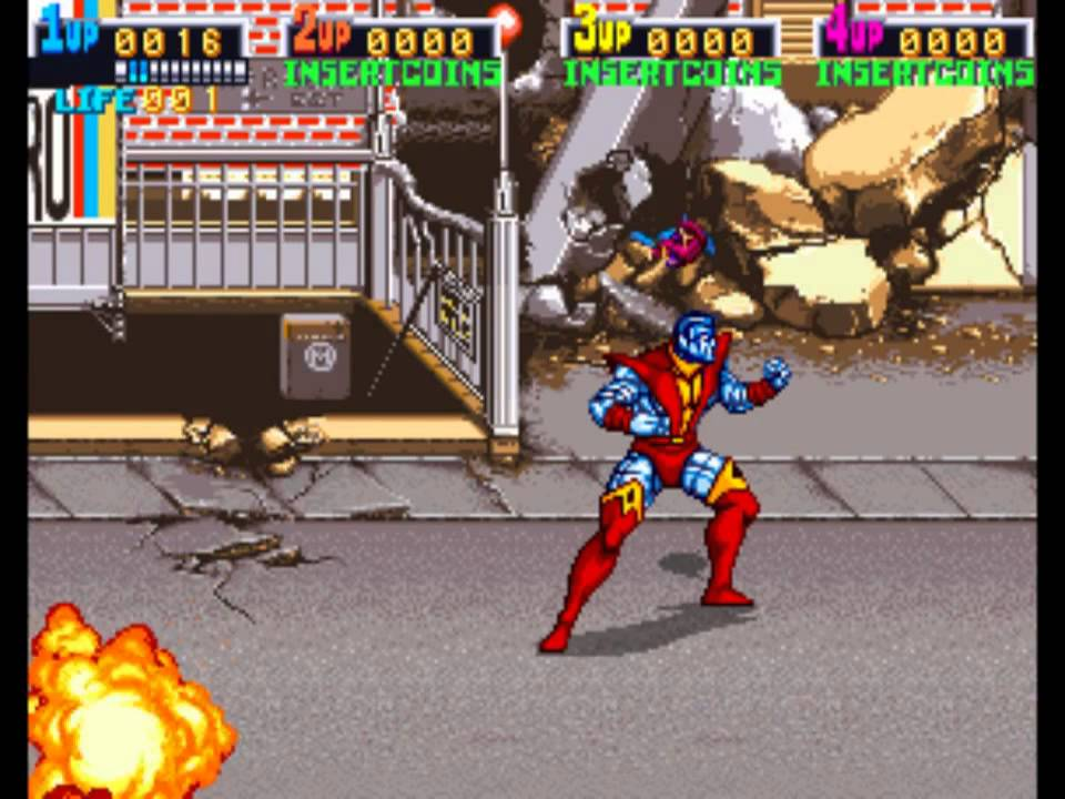 x men the arcade game colossus youtube