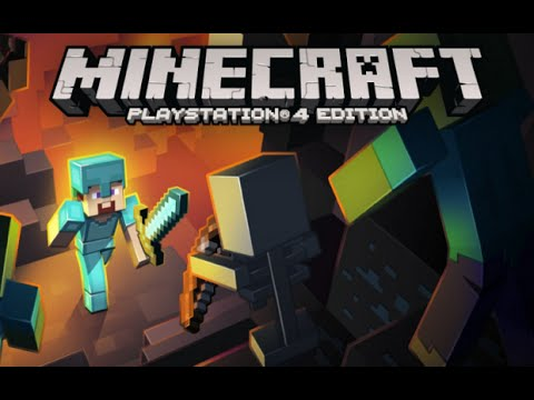 Minecraft PS4: Survival Let's Play - Episode 1