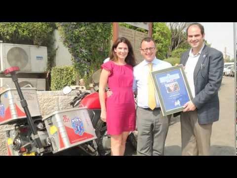 Matthew Gould, British Ambassador To Israel, Visits United Hatzalah