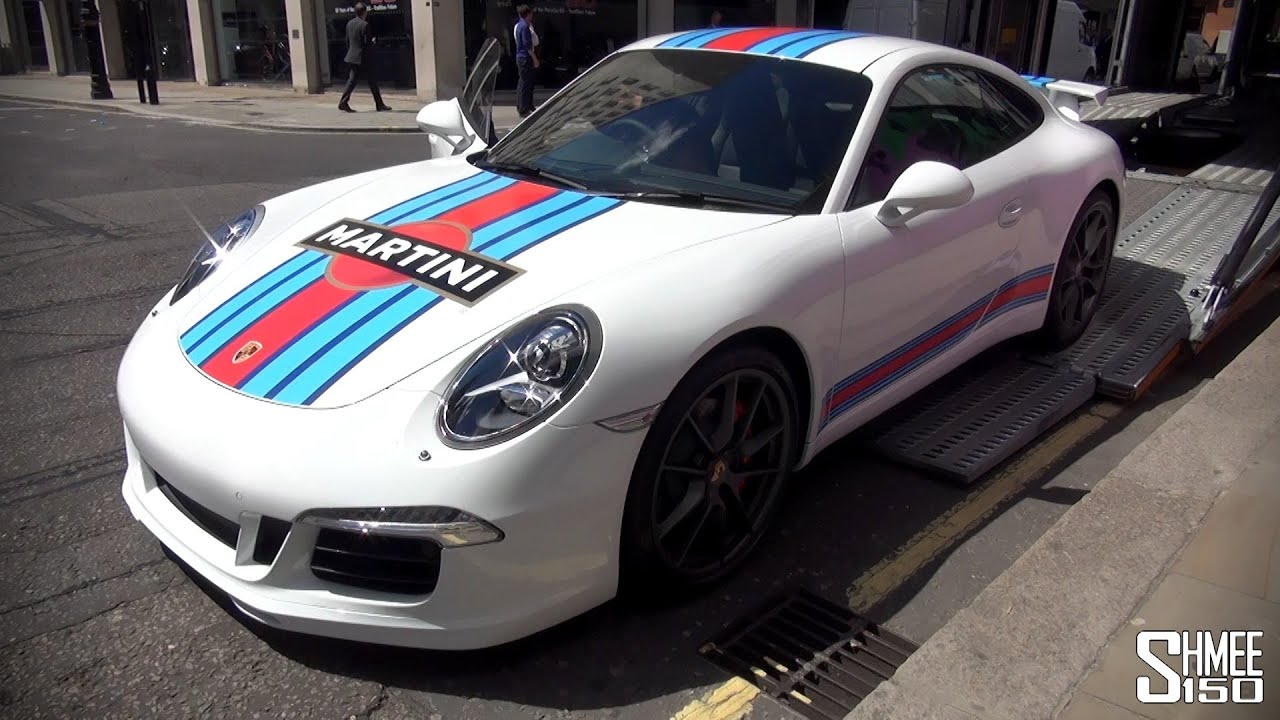porsche 911 martini racing edition one of 80 youtube. Black Bedroom Furniture Sets. Home Design Ideas