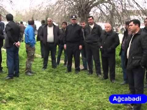 Ağcabədidə sürücünün sükan arxasında ürəyi tutdu və maşını çəpərə çırparaq öldü.30.03.2015