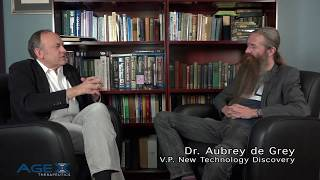 Aubrey de Grey on The State of Anti-Aging & His New Job At AgeX Therapeutics