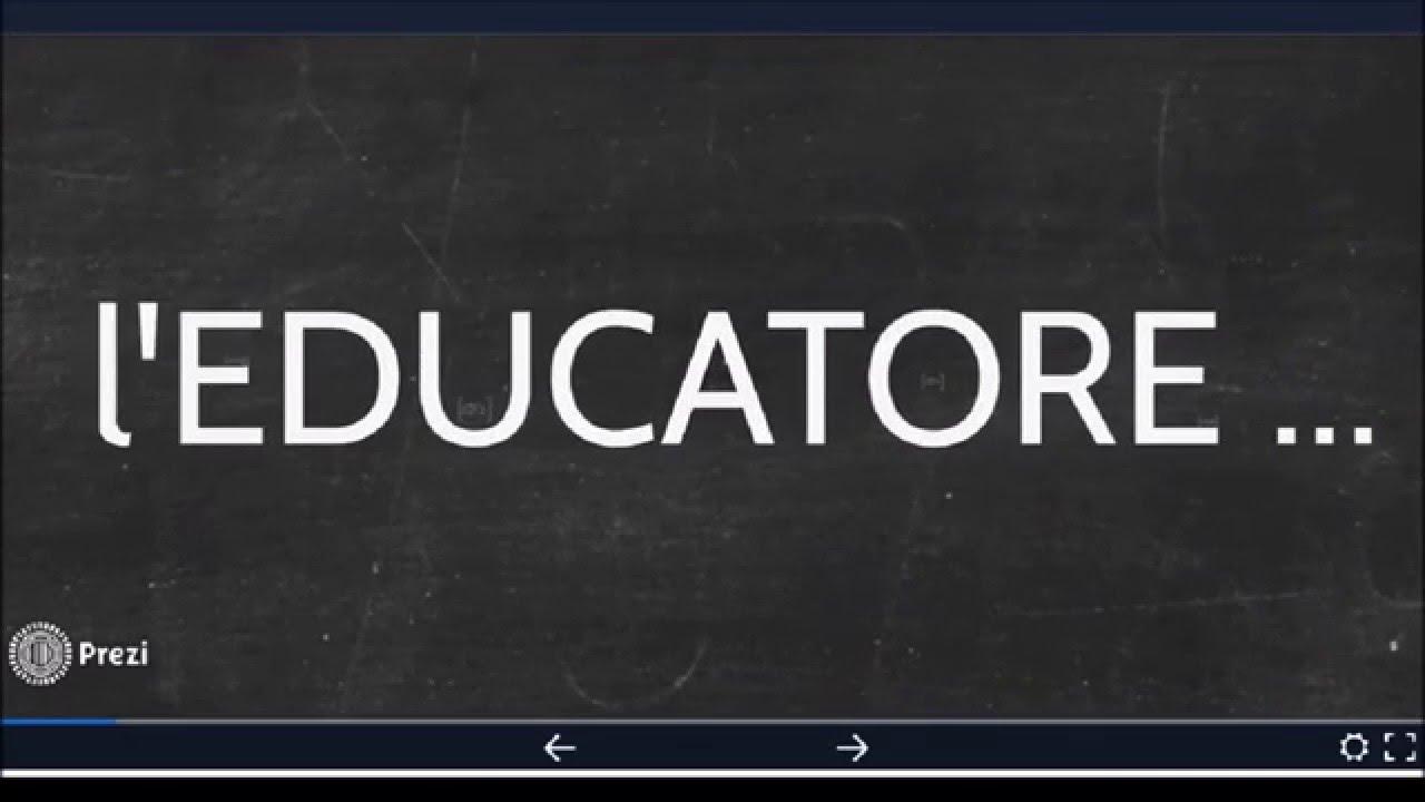 La visione dell 39 educatore oggi youtube for Youtube oggi