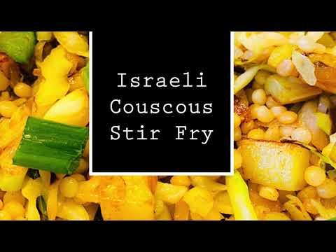 Israeli Couscous Stir Fry recipe