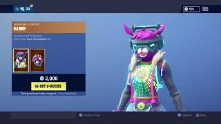 """New"" DJ Bop Skin - Fortnite Battle Royale Item Shop"