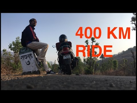 SOLO RIDE TO RIAGAD FORT ON SCOOTER | MUMBAI - RAIGAD FORT - MUMBAI |  VLOG #14