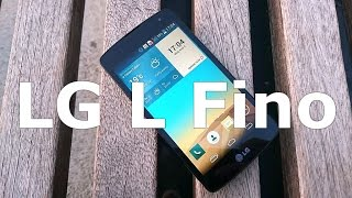 LG L Fino Hands on Review [Greek] Thumbnail