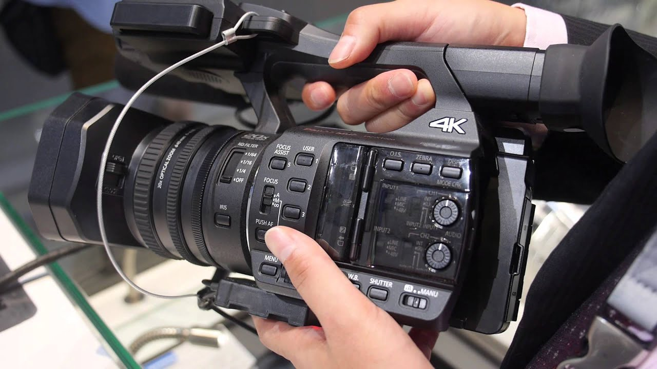 Panasonic X1000 4K 60fps 150Mbitps Camcorder at $3499