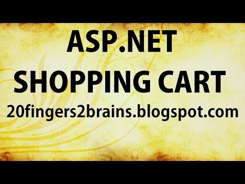 Part 15 C# ASP.net Shopping Cart with Database eCommerce Project