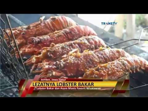 Lezatnya Lobster Bakar