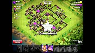 Ataque con globos 3 estrellas | Coc