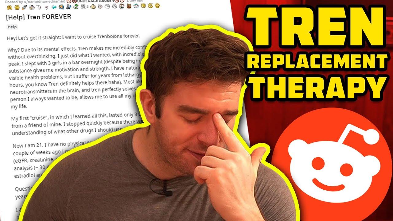 """Using Trenbolone FOREVER As """"TRT""""!?"""