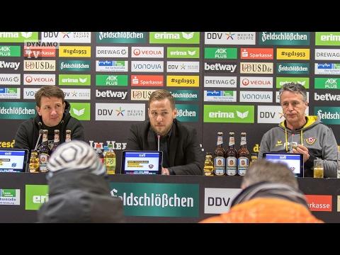 21. Spieltag | SGD - H96 | Pressekonferenz nach dem Spiel