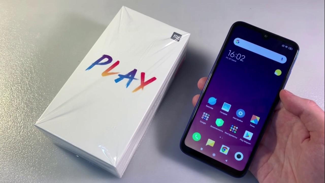 Обзор Xiaomi Mi Play 4/64GB