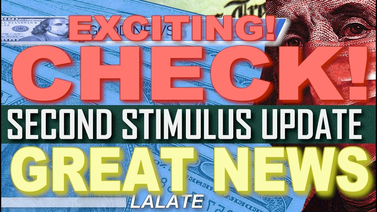 FINALLY! SECOND STIMULUS CHECK GETS BIGGER AMOUNT! | Second Stimulus Package Update GREAT NEWS TODAY - download from YouTube for free