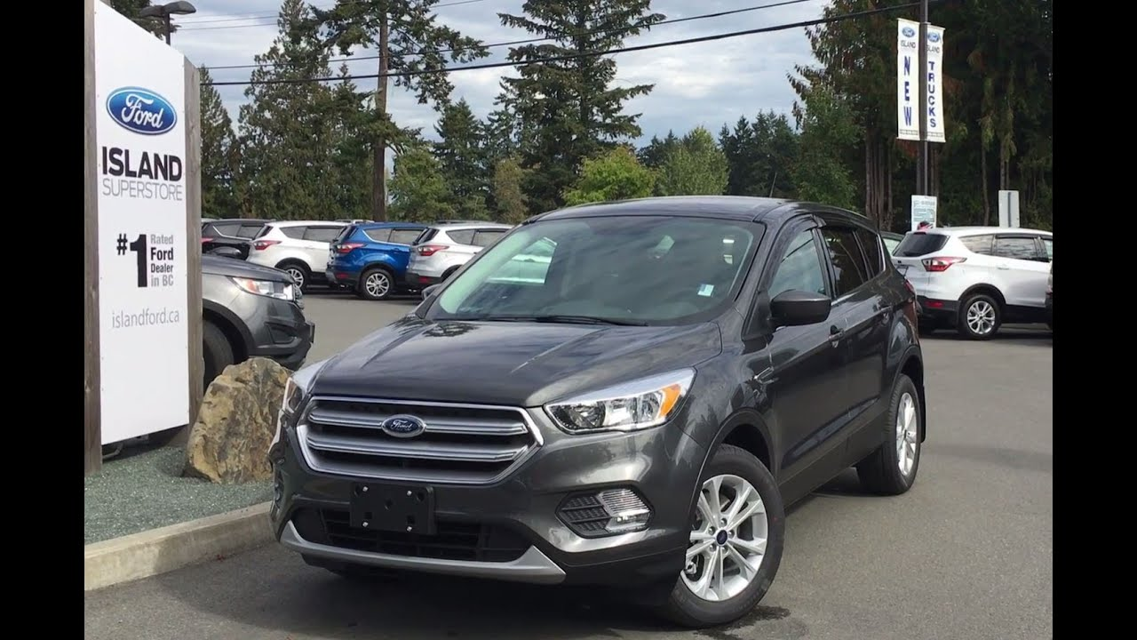 2017 Ford Escape Se 4wd Ecoboost Review Island Ford Youtube