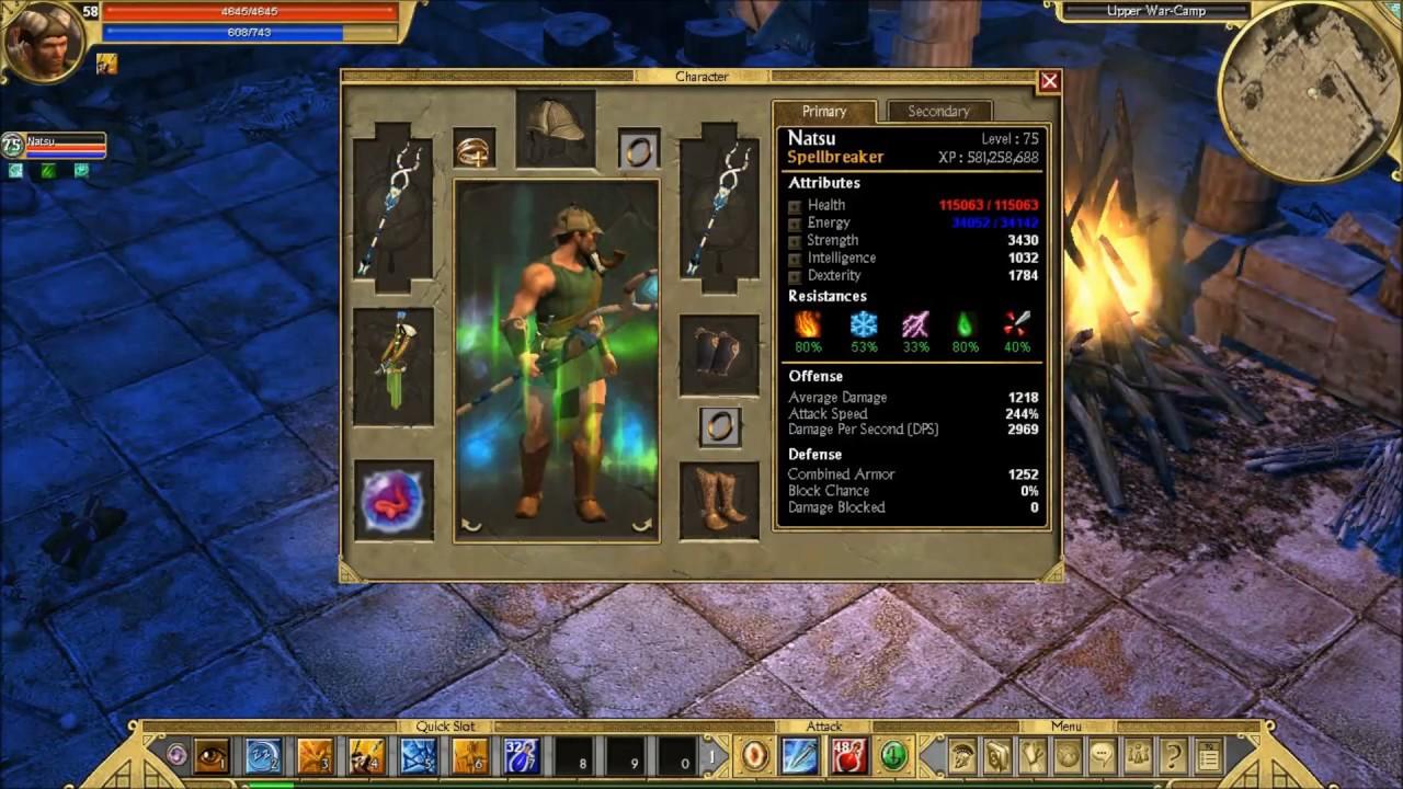 Titan Quest Anniversary: Hacks? Or God Items? HELP!