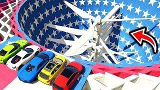 Örümcek Adam En Pahalı Araçları Araba Parçalama Makinesine Parçaladı (Çizgi Film Tadında)