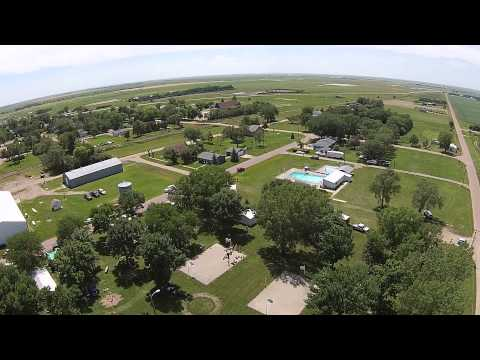 White Lake, SD City Park Drone Video
