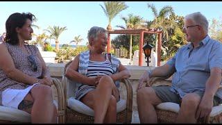 Energetisches Heilen - Interview nach erfolgreicher Behandlung von Rückenschmerzen , Hurghada 2020