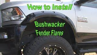 How to Install Bushwacker Fender Flares