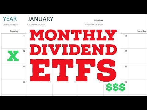 MONTHLY DIVIDEND ETFS: Passive Monthly Income through dividend investing on the Robinhood App