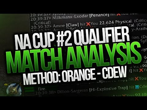 Method: Orange NA Cup #2 Qualifiers  - Cdew VOD Match Analysis - Arena Tournament PVP
