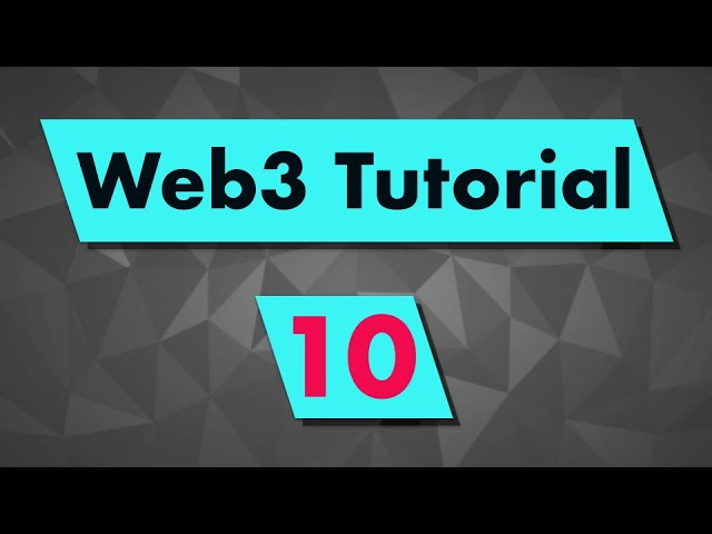 Web3 Tutorial: Integrate Web3 with Metamask