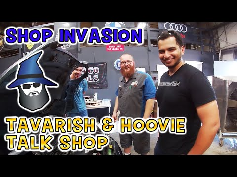Tavarish and Hoovie invade the CAR WIZARD's shop