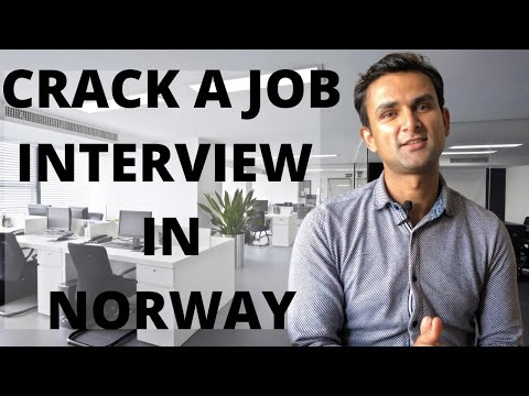 HOW TO CRACK A JOB INTERVIEW IN NORWAY | JOB INTERVIEWS IN NORWAY |