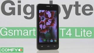 Gigabyte Gsmart T4 lite - бюджетный смартфон начального уровня - Видеодемонстрация от Comfy