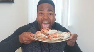 Dungeness Crab Legs Mukbang Part 2!