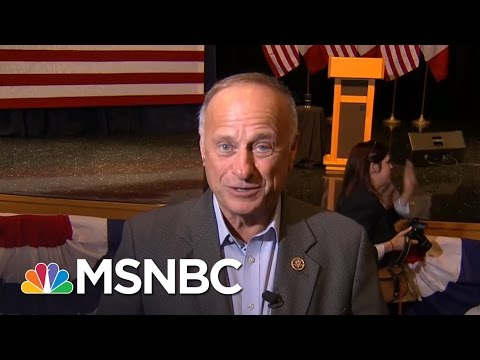 Rep. Steve King Rips Paul Ryan's 'Wrong Move' | MTP Daily | MSNBC