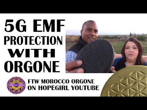 5G EMF Protection With Orgone Part 3