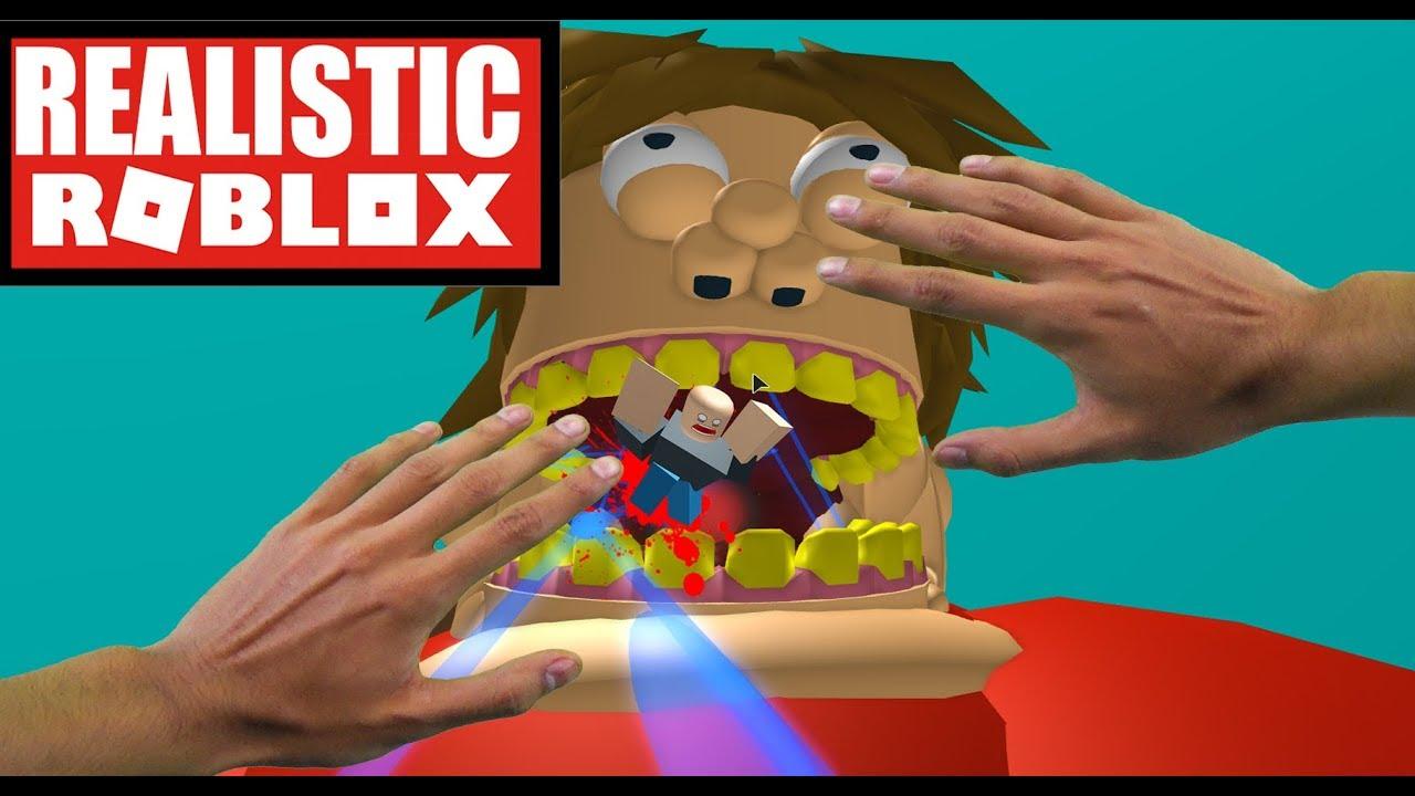 Realistic Roblox Escape The Fat Evil Guy Obby Youtube