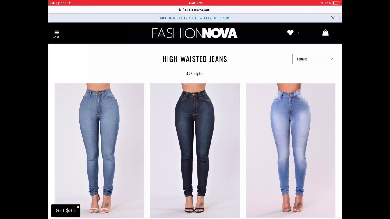 This is a photo of Irresistible Fashion Nova Return Shipping Label