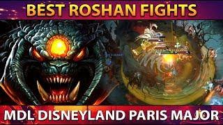 The BEST ROSHAN FIGHTS of MDL Disneyland Paris Major - Dota 2