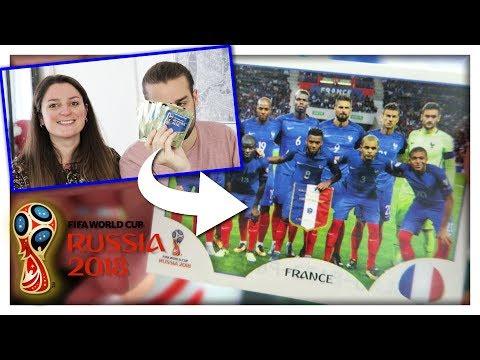 ENFIN L'EQUIPE DE FRANCE | PANINI COUPE DU MONDE 2018