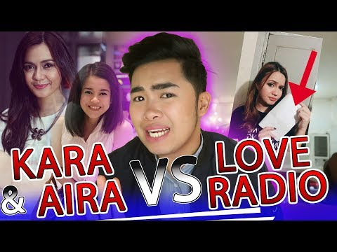LEGAL NA LABAN NI KARA AT AIRA SA LOVE RADIO | CANDIYEY