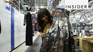 Inside The Rent The Runway Warehouse