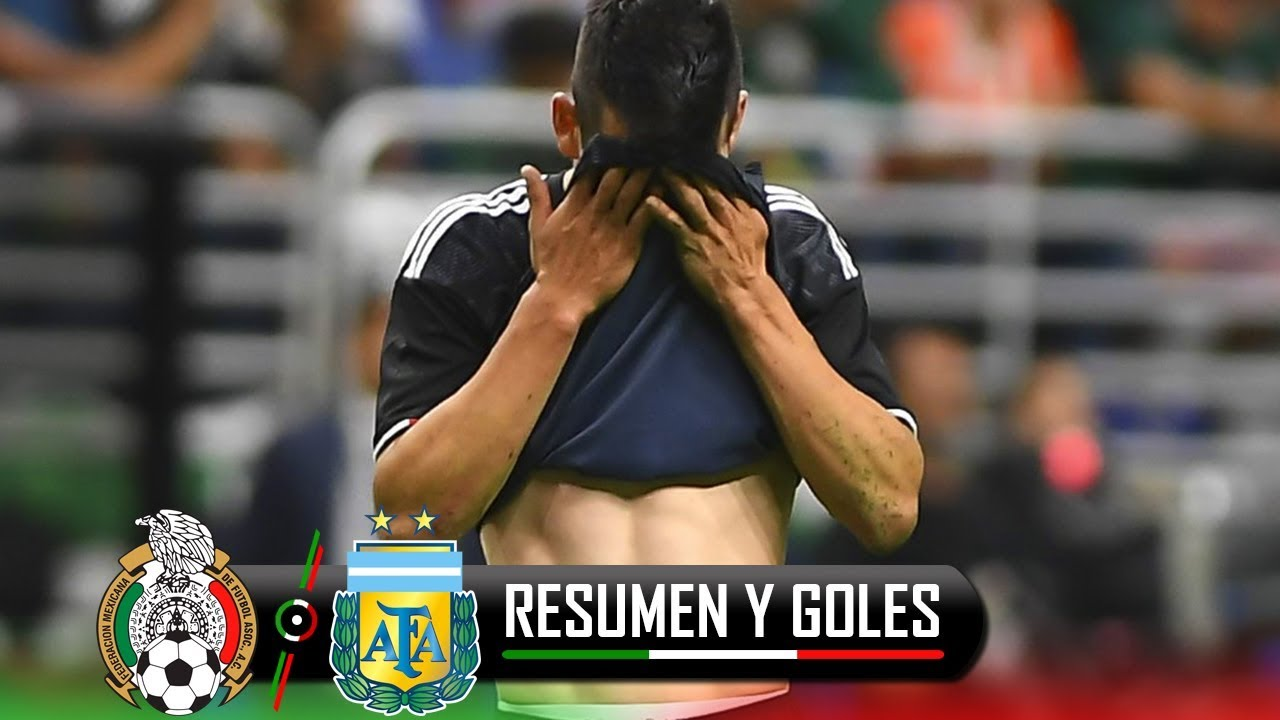 Download ¡HUMILLANTE DERROTA ANTE LA ALBICELESTE! MEXICO VS ARGENTINA 0-4 / AMISTOSO  10-09-2019