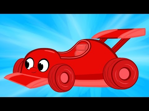 My Toy Car Morphle And The Building Bandits  - Cartoon Animation Videos For Kids
