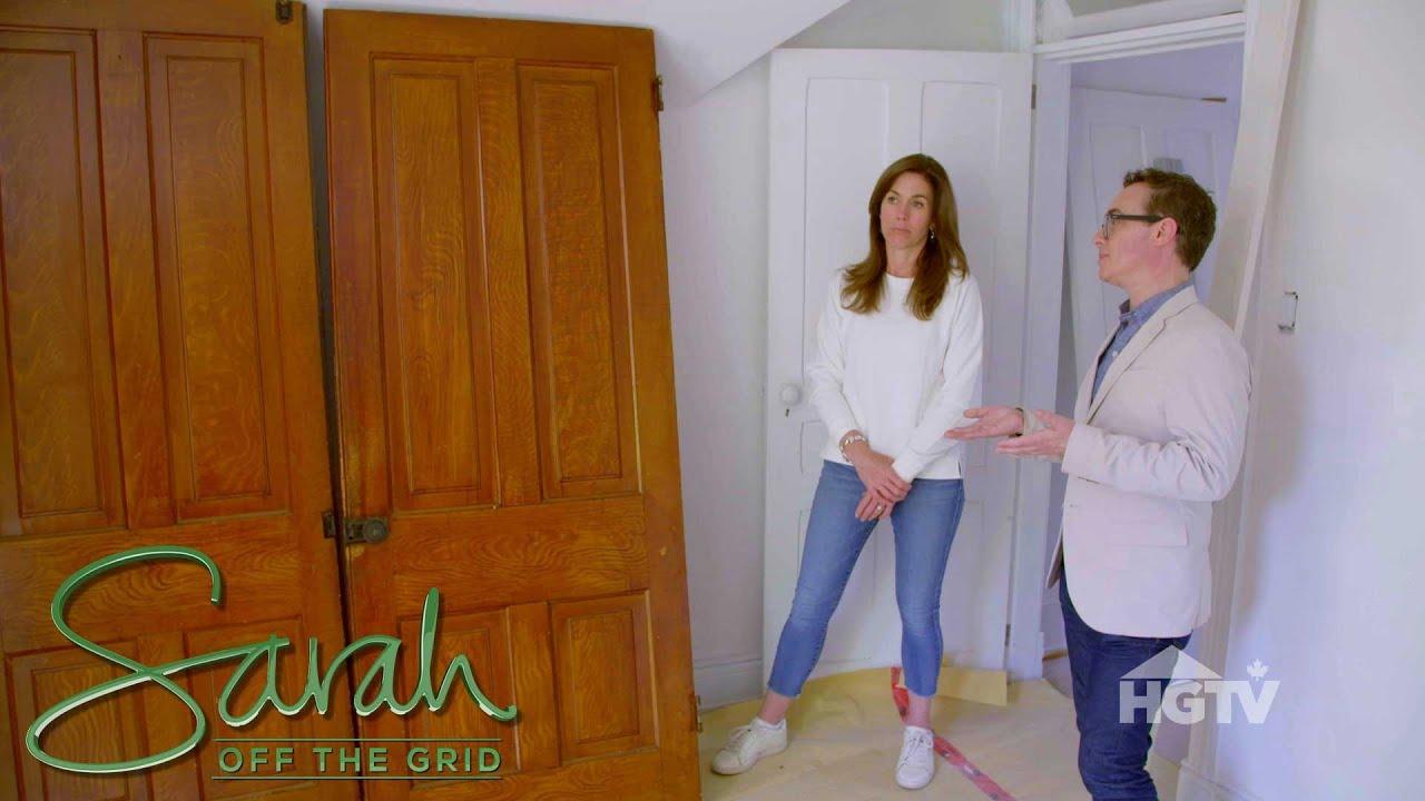 Sarah Richardson Off The Grid sarah off the grid: closet debate