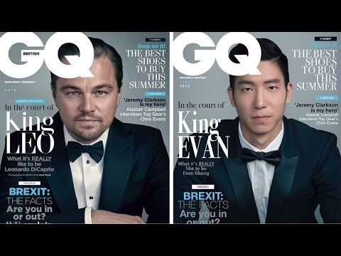 Korean Men Re-Create GQ Magazine Covers